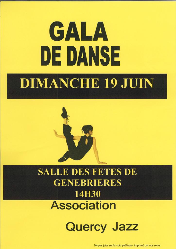 Gala de danse ... à Genebrières (82)