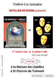 Théâtre à la Campagne ... à Saint-Etienne de Tulmont (82)
