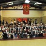 L'ensemble des groupes folkloriques