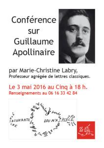 Guillaume Apollinaire par MC Labry