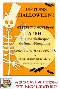ST NO'LIVRES fête Halloween  ... à Saint-Nauphary (82)