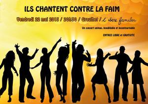 Concert contre la faim - Ibère Familier  Graulhet (81)