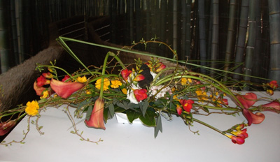 Ikebana (art floral japonais)