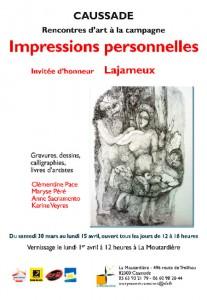 Impressions Personnelles 2013
