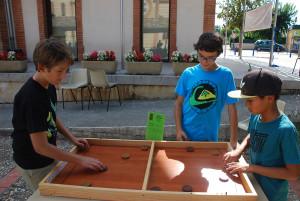 Jeux en bois à Saint-Nauphary (82)