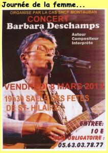 Barbara Deschamps à Saint-Hilaire (82)