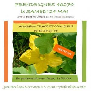 Journées Nature- à Prendeignes (46)