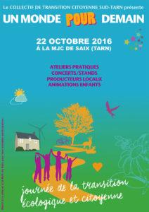 Journée de la transition écologique et citoyenne ... à Saïx (81)