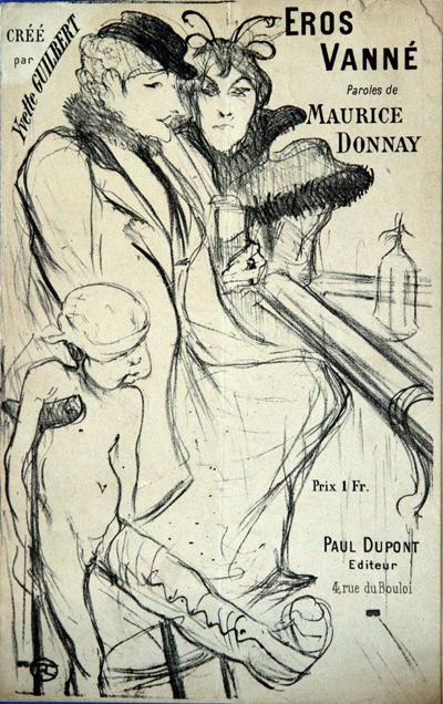Eros Vanné – Toulouse-Lautrec – Ed. 1894