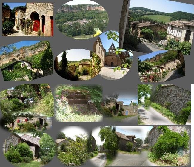 Le village de Larroque