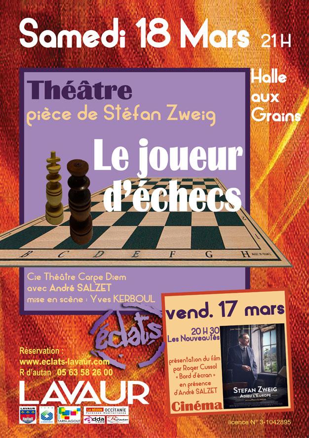 Le joueur d'échecs  ... à Lavaur (81)