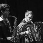 Florent Lalet et Virgile Goller accompagnent en duo des films muets