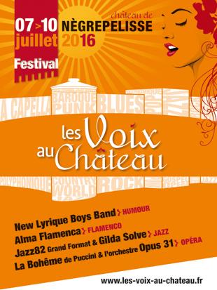 Les Voix au Château 2016 - Nègrepelisse (82)