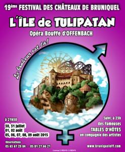 L'île de Tulipan - 19ème Festival des Châteaux de Bruniquel (82)