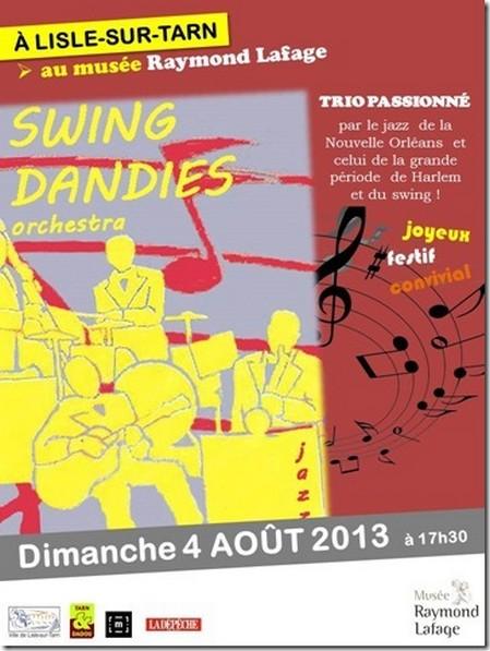 Swing Dandies au Muisée Raymond Lafage