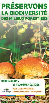 """Livret """"Préservons la biodiversité des milieux forestiers en Pays Midi-Quercy"""""""