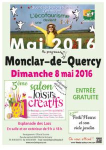 Salon des Loisirs Créatifs et Festi'Fleurs à Monclar de Quercy (82)