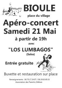 Apéro Concert avec Los Lumbagos à Bioule (82)