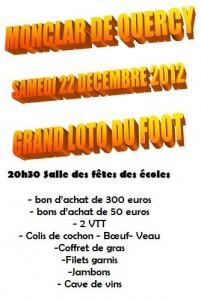 Loto du Foot à Monclar de Quercy