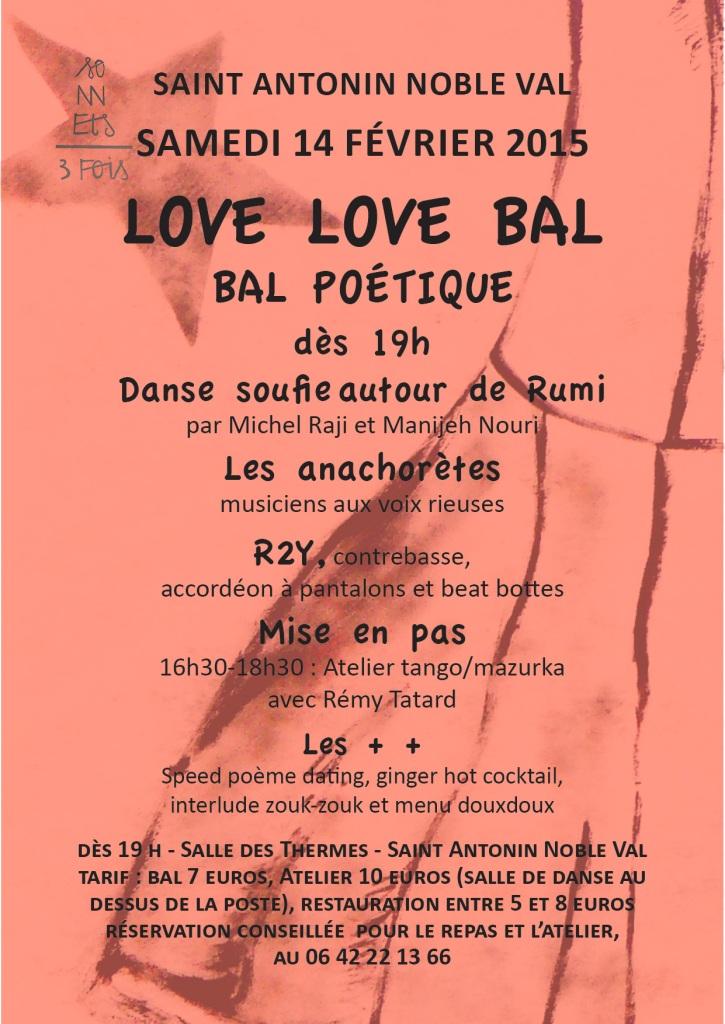 Love, love Bal à Saint Antonin Noble Val (82)