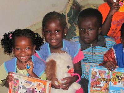 Enfants de Malicounda Bambara - Sénégal