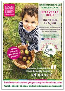 """Défi """"1 semaine pour manger local"""" ! ... en Pays Midi Quercy"""