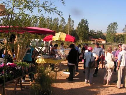 première du nouveau marché de producteurs au Sourigous (Salvagnac)