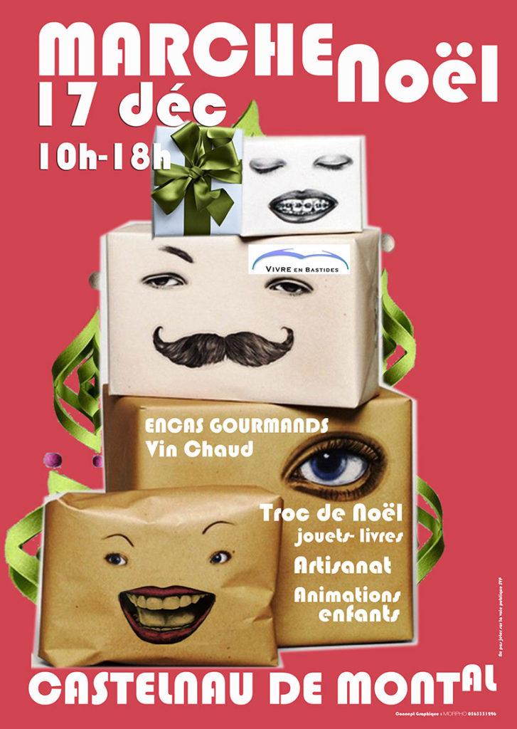 Marché de Noël ... à Castelnau de Montmiral (81)