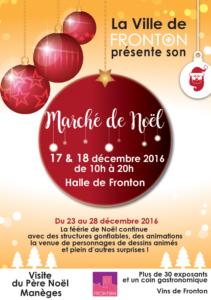 Marché de Noël ... à Fronton (31)