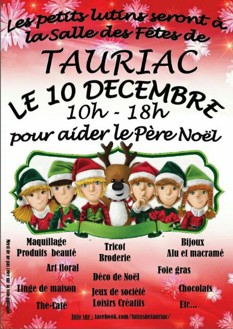 Marché de Noël ... à Tauriac (81)