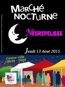 Marché Nocturne Nègrepelisse (82)