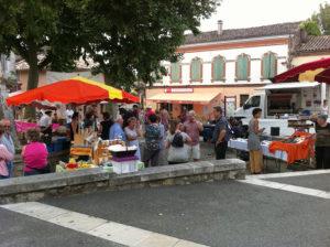 Marchés Occitans, la saison commence ...  à Monclar de Quercy (82)