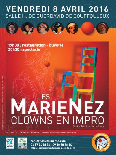 « Les MarieNez », clowns en impro ... à Couffouleux (81)