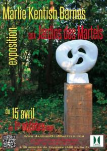 Exposition aux Jardins des Martels ... à Giroussens (81)