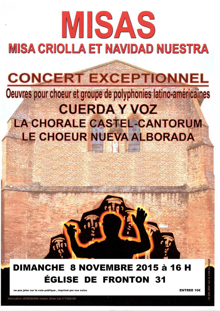 Concert Exceptionnel avec Castel Cantorum à Fronton (31)