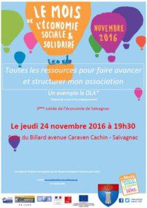 3ème soirée de l'économie ... à Salvagnac (81)