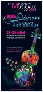 Les moments musicaux du Tarn 2016 … en Rabastinois (81)