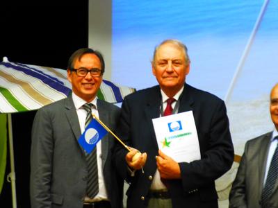 Jean-Pierre LECOCQ avec Jean-Luc LE BRIGAND, Maire de PREFAILLES