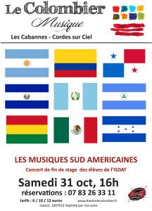 Musiques Sud Américaines aux Cabannes (81)