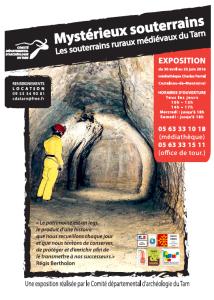 Mystérieux souterrains, les souterrains médiévaux rurauxdu Tarn ... à Castelnau de Montmiral (81)