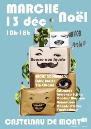 Marché de Noël à Castelnau de Montmiral