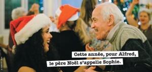 Plus d'un Français sur deux prêt à s'engager bénévolement contre la solitude des personnes âgées ! Les petits frères des Pauvres encouragent cette solidarité et recherchent pour Noël des bénévoles dans toute la France.