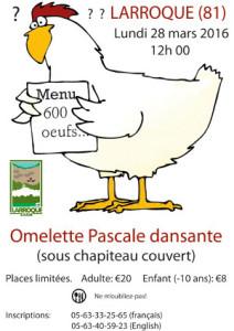 Omelette Pascale à Larroque (81)