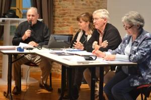 Jean-Pierre LECOCQ, Cathy LESSOULT, Yves LINAS et Angeline DELPRAT