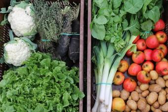 Légumes et fruits d'ici