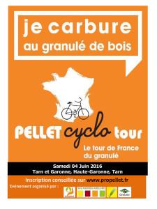 La 3ème étape du Pellet Cyclo Tour arrive à Salvagnac (81)
