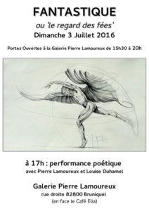 Galerie Pierre LAMOUREUX - Bruniquel (82)