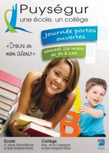 Journée Portes Ouvertes 2013 - Ensemble Scolaire Puységur à Rabastens (81)