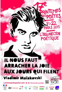 Printemps des poètes 2015