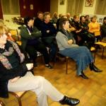 Un public attentif et passionné.